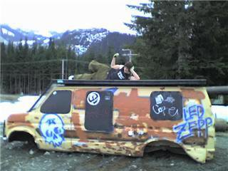 Van from a mack dawg shoot