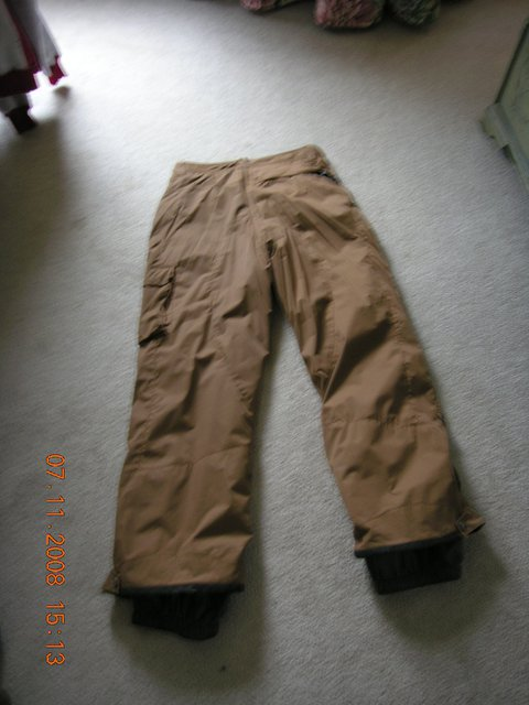 Lg Brown Snowpants - SIVER