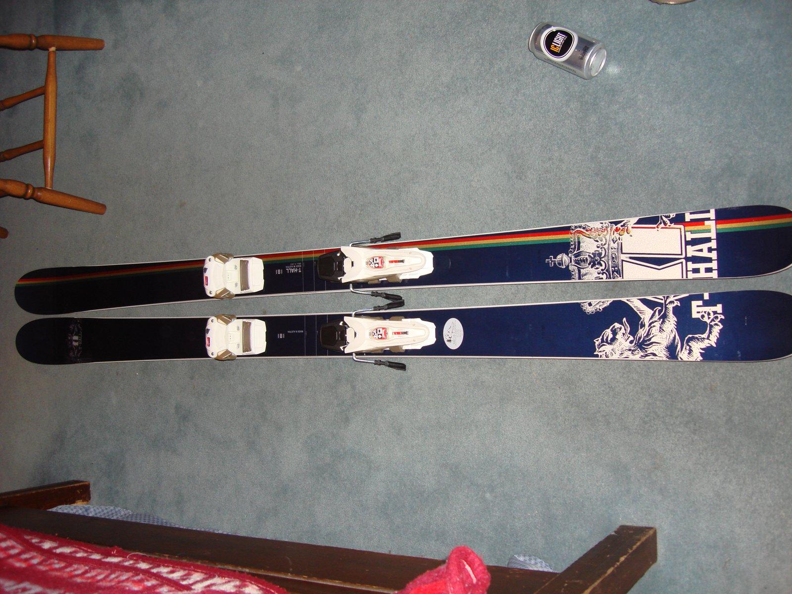 08 T-Hall's w/Marker Jester bindings