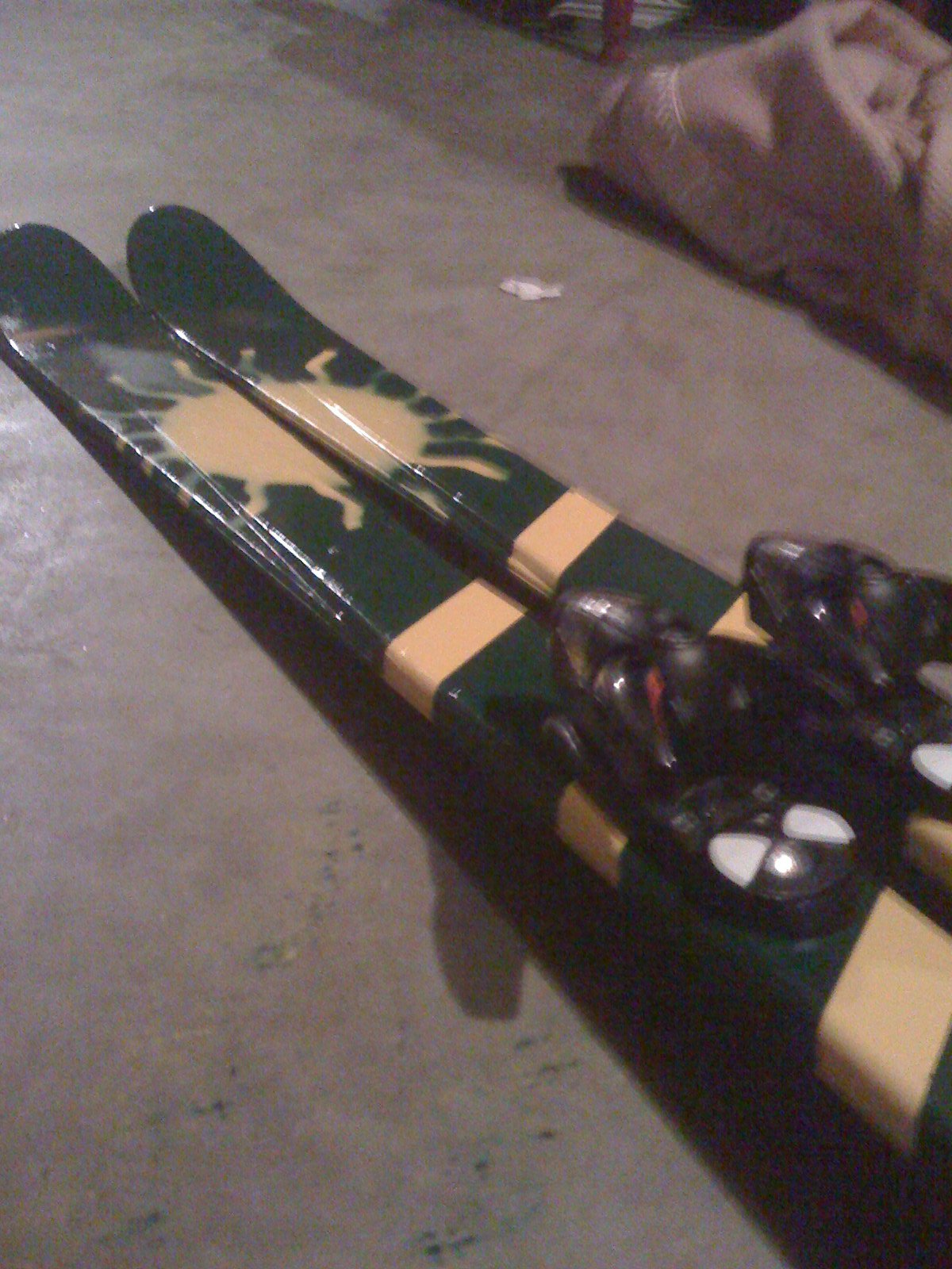 Painted Skis2