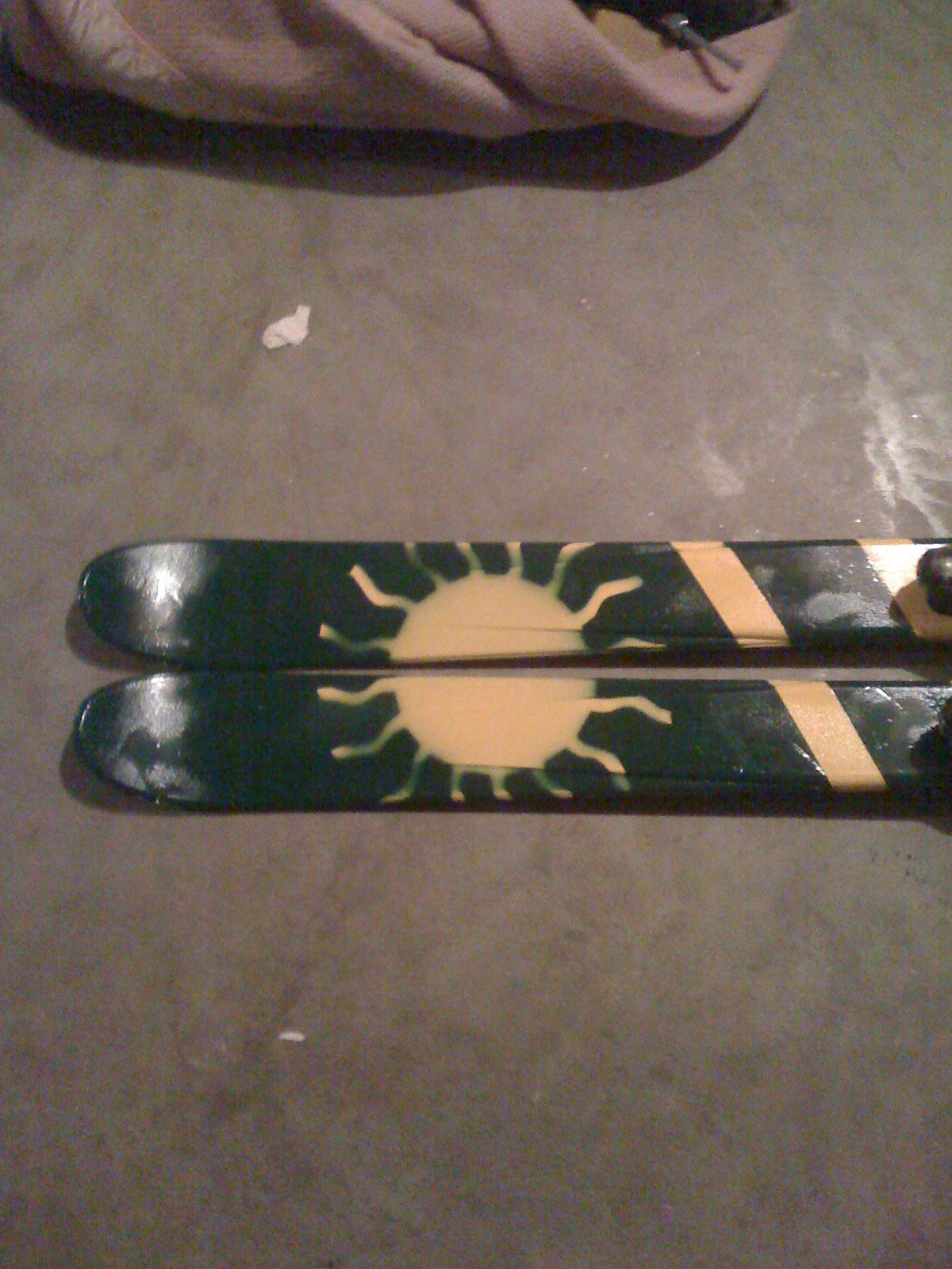 Painted Skis4