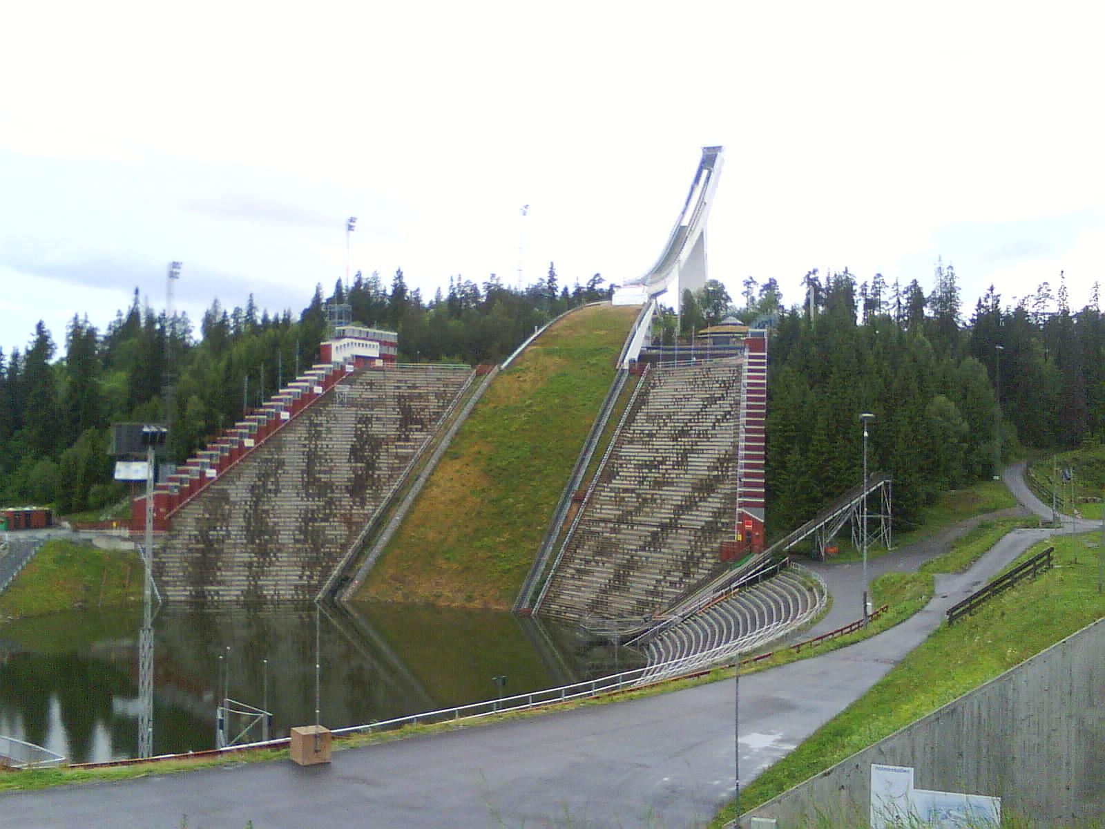 Homenkollen ski jump in Norway