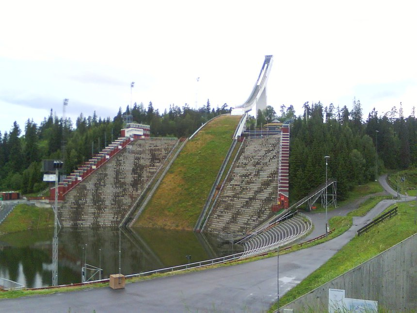 Homenkollen ski jump in Norway