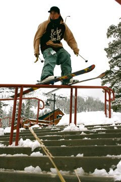 Red Double Rail