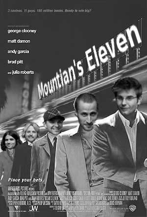 Mountain's eleven edit
