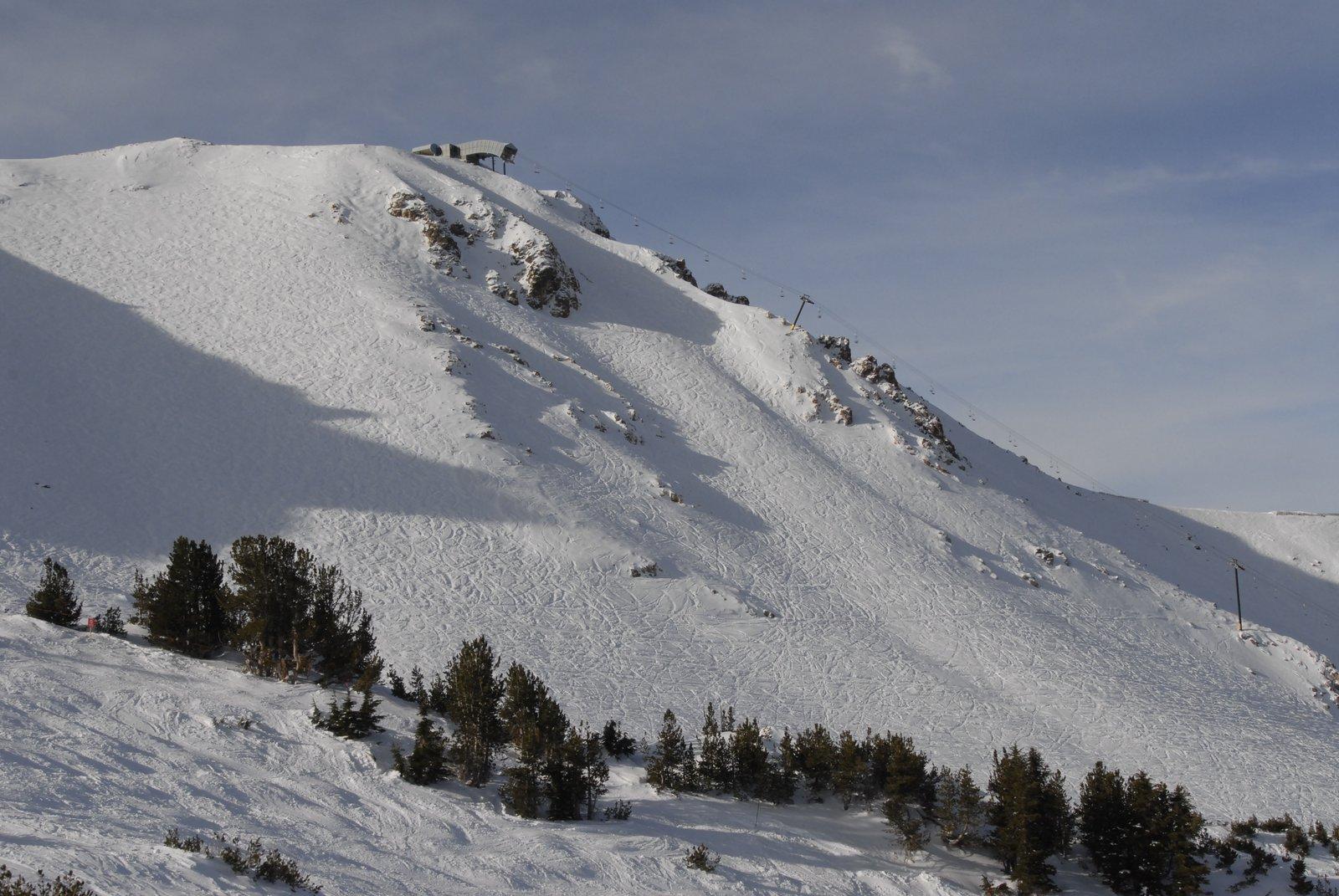 Mammoth Mountain on 11/11/08