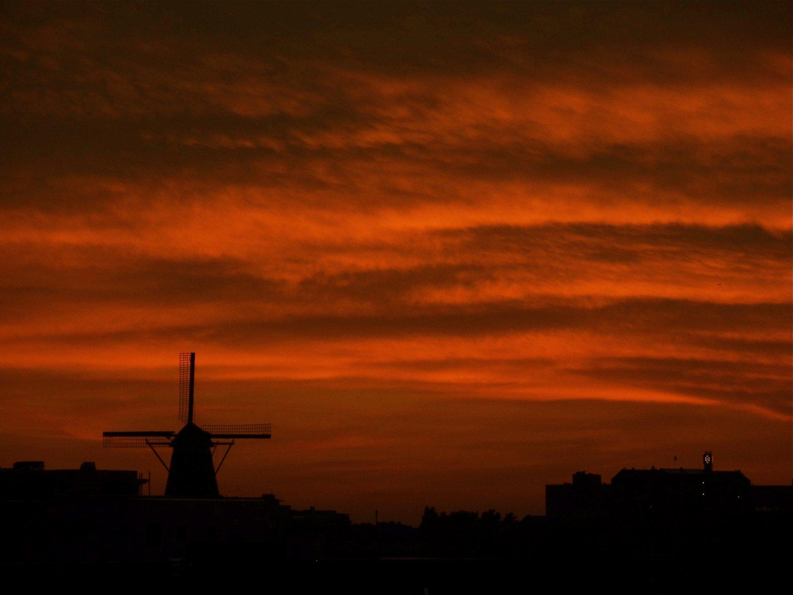 An Amsterdam Sunset