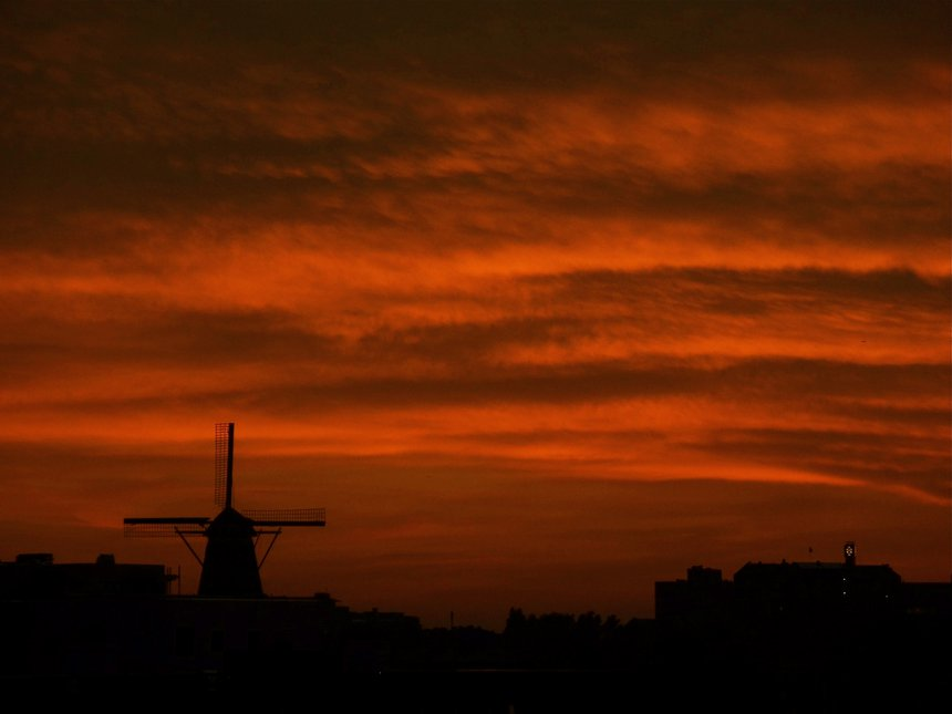 An Amsterdam Sunset