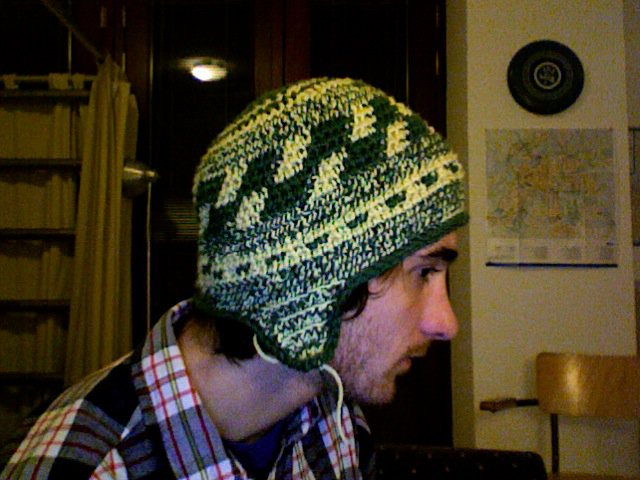 Another unfinished hat creation