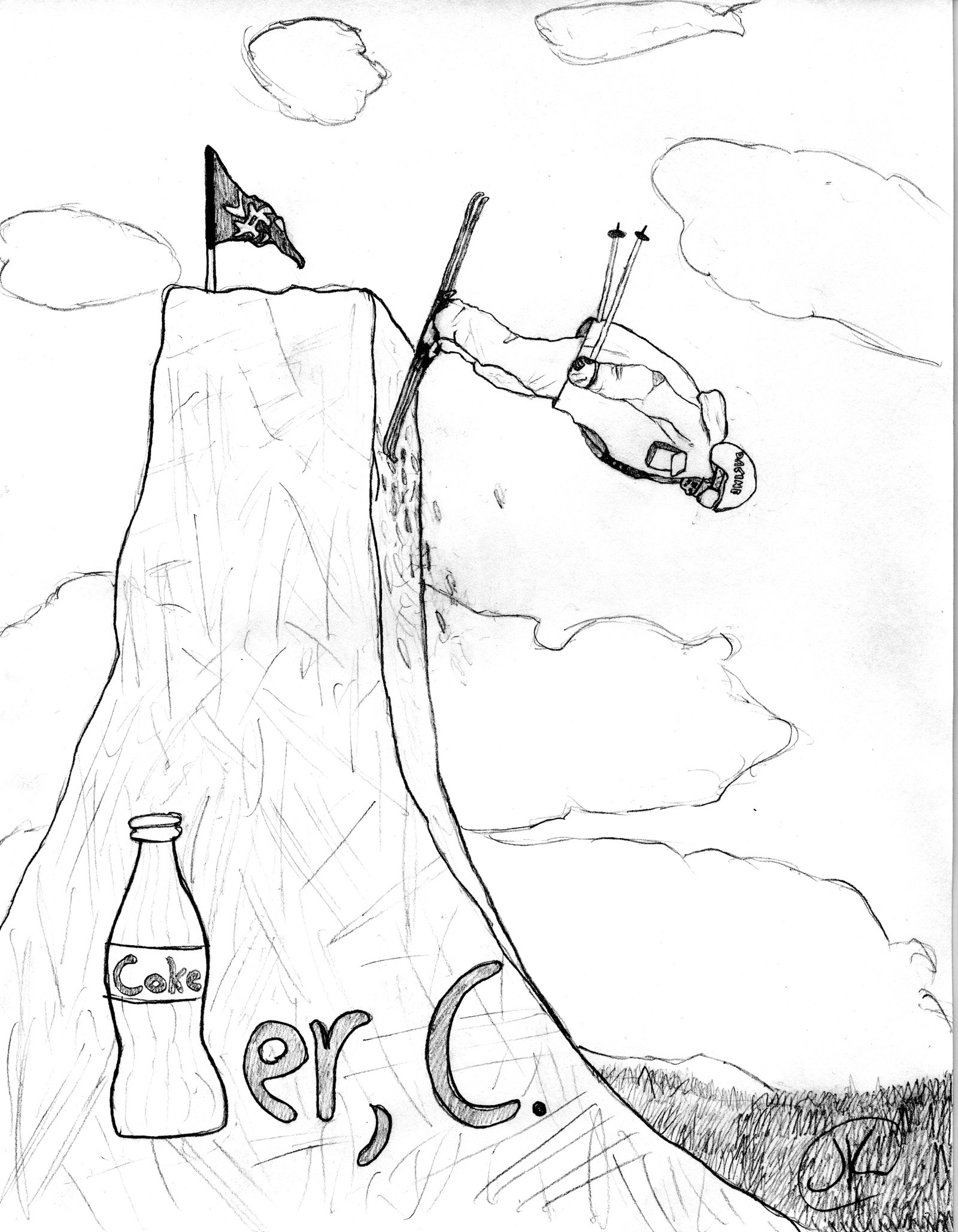 Coker drawing