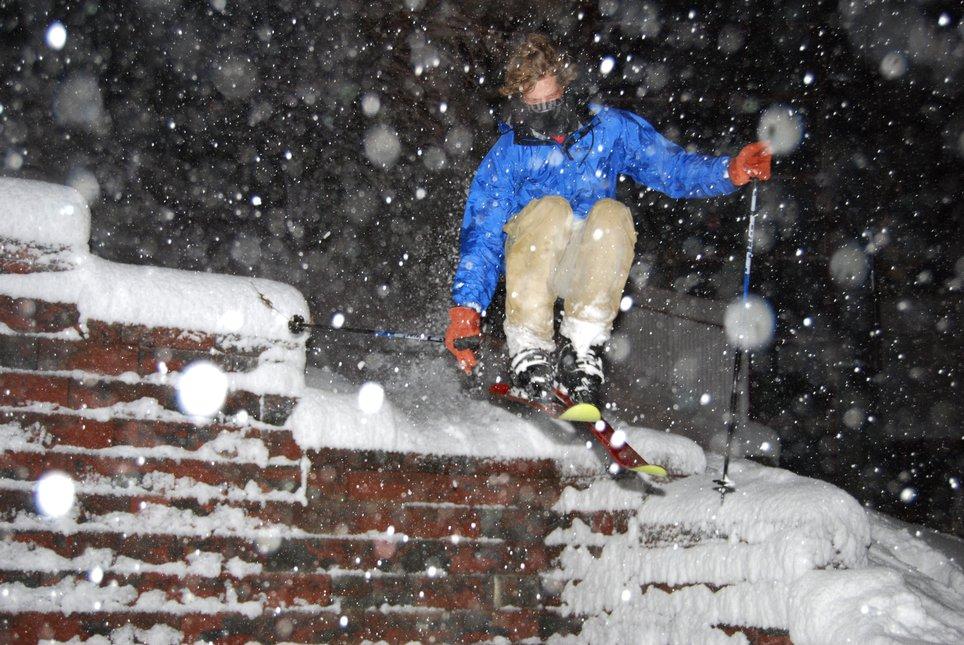 First decent snow in Erie