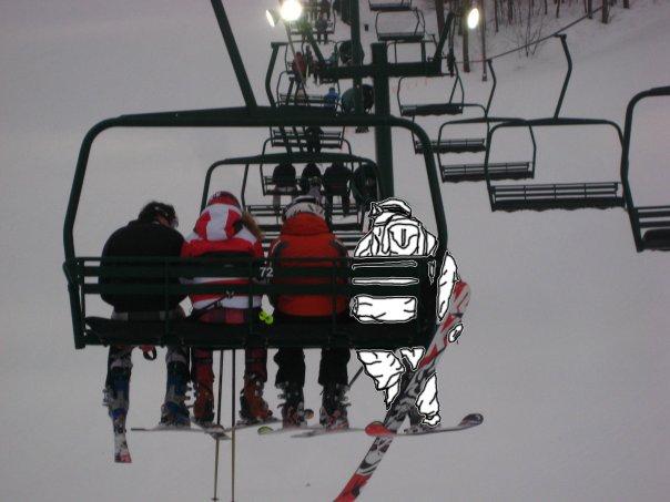 Chairlift fun