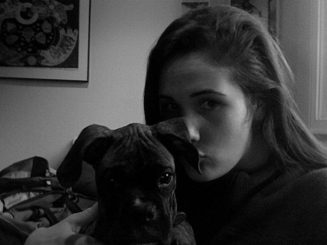 Me and my pup, hugo