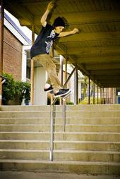 Jason Singler, Skatin for Mtn Militia Clothing - 3 of 6