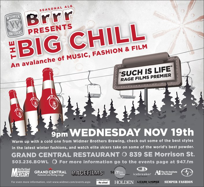 Widmer presents The Big Chill