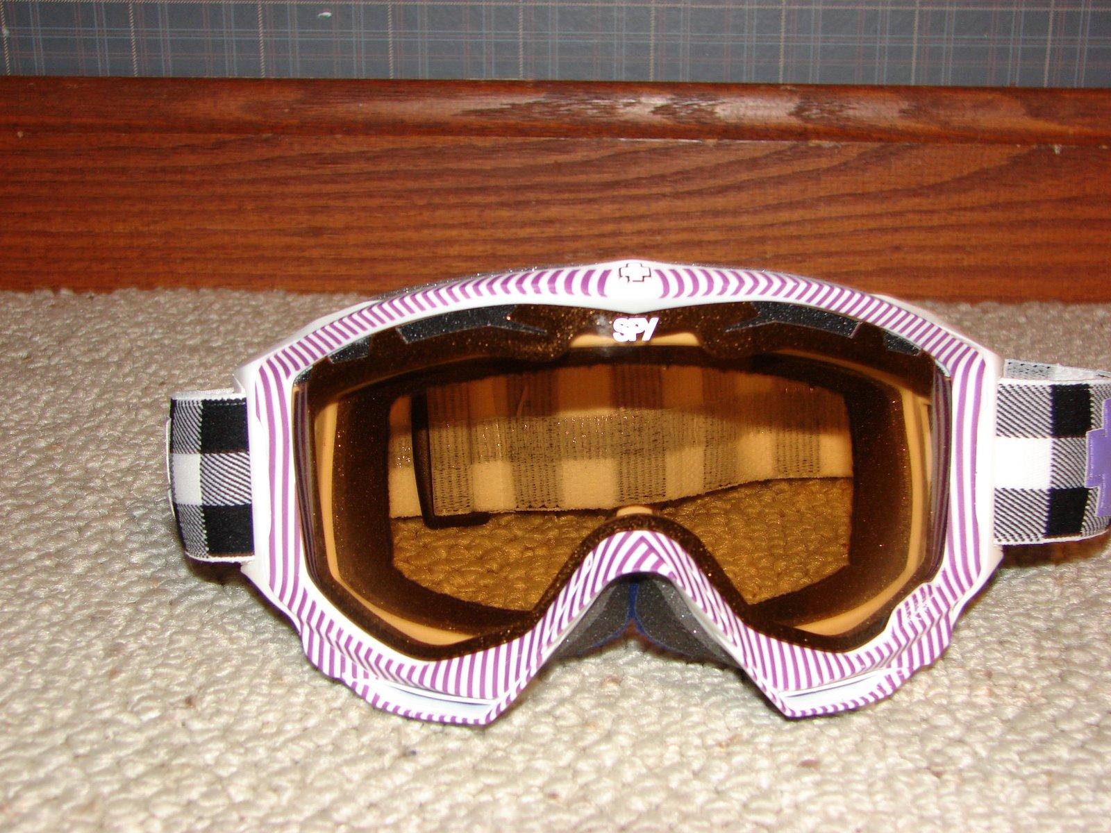 Spy Omega Purple Streak Goggles