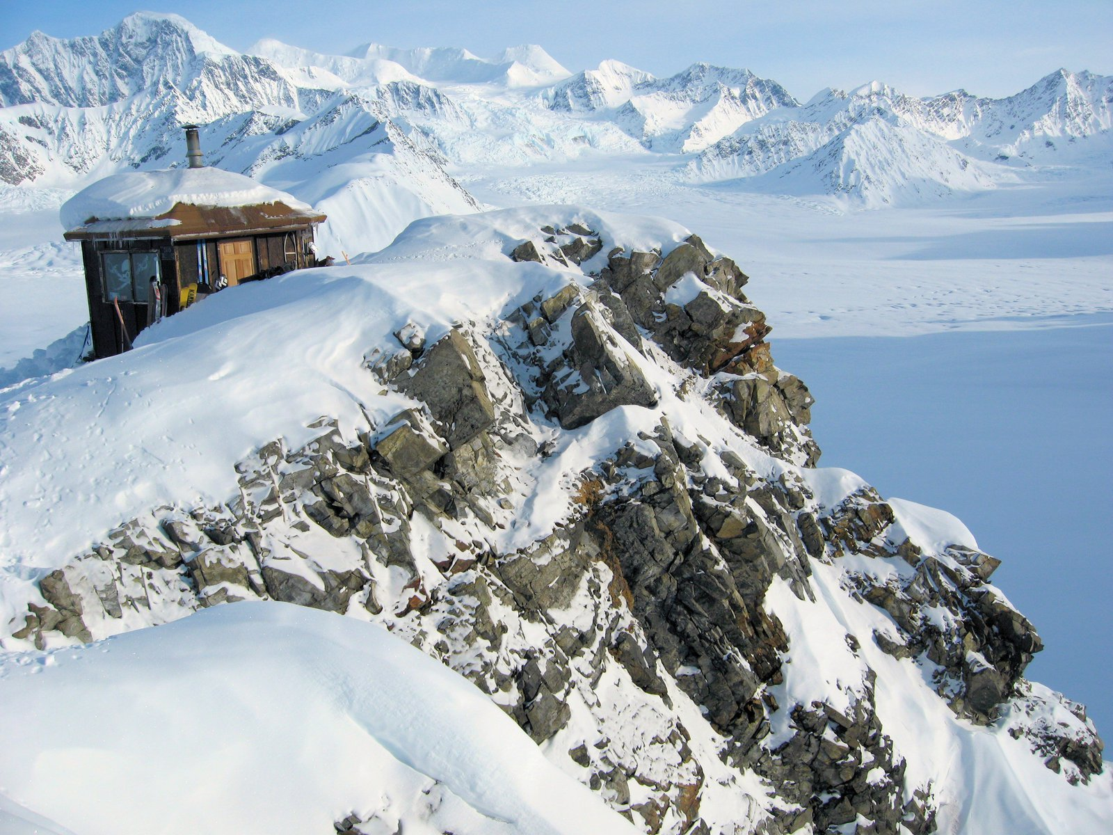 Don Sheldon Mountain Hut