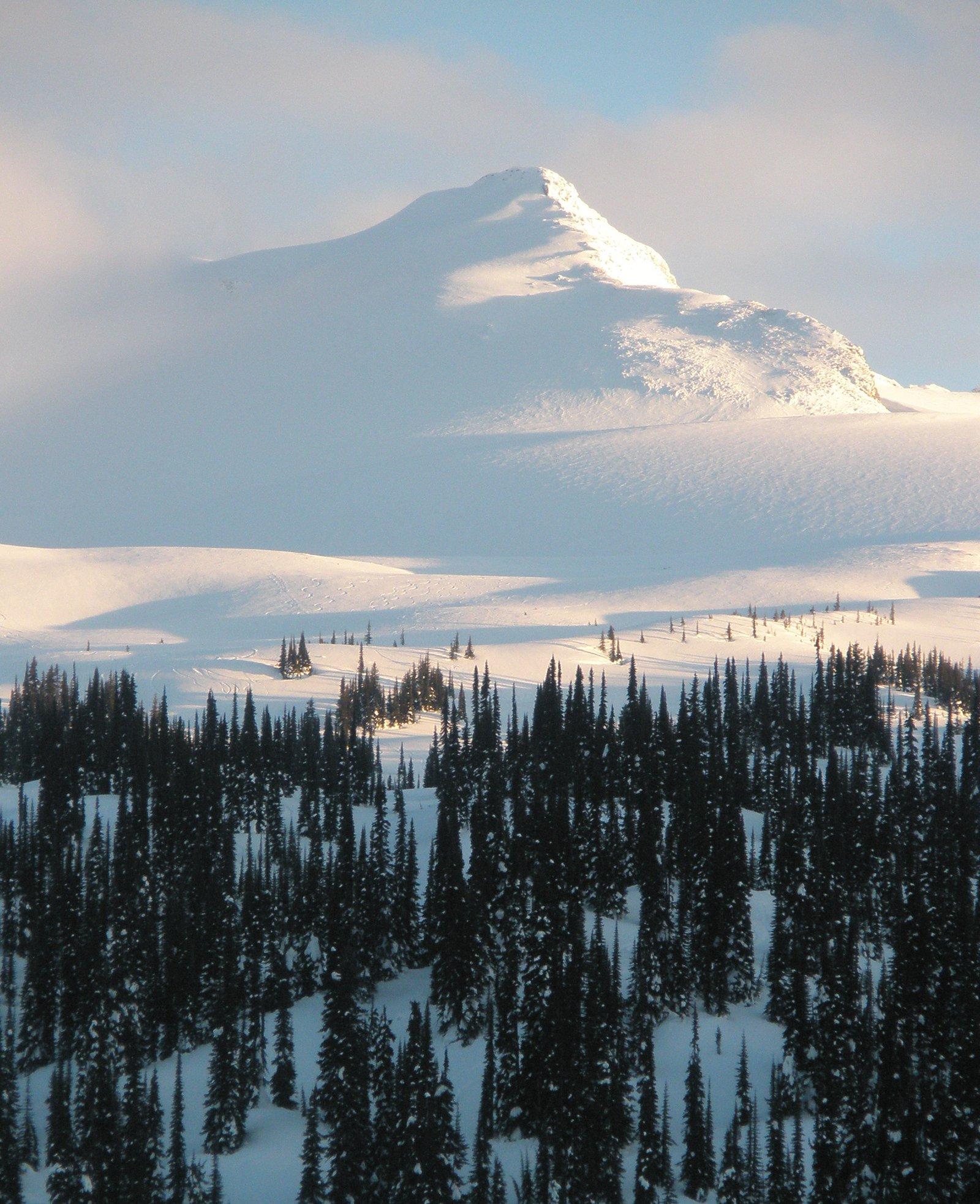 Blanket Glacier Peak