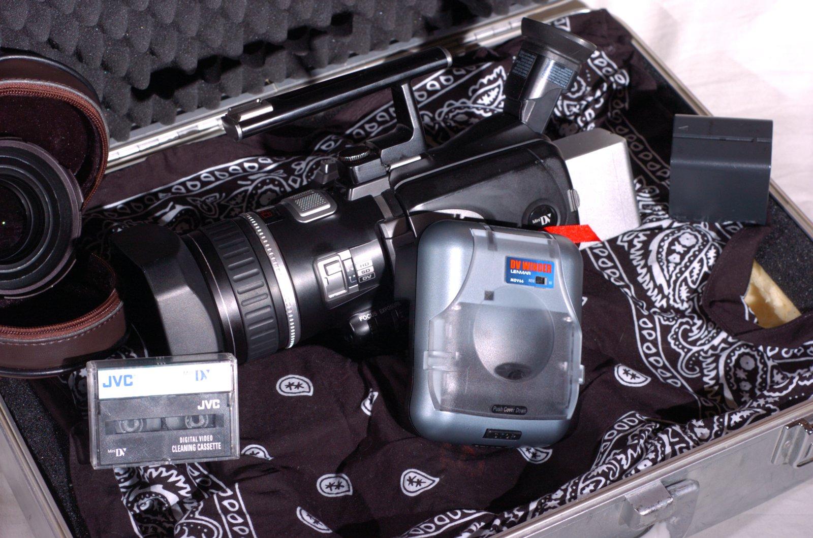JVC GR-HD1 High Definition Camera 2