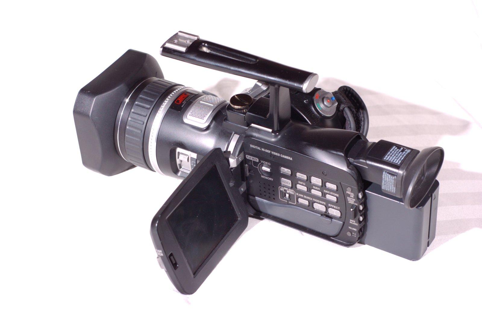 JVC GR-HD1 High Definition Camera 3