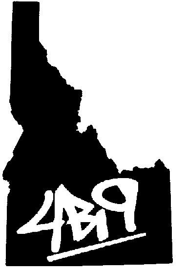 Idaho 4bi9 sticker design