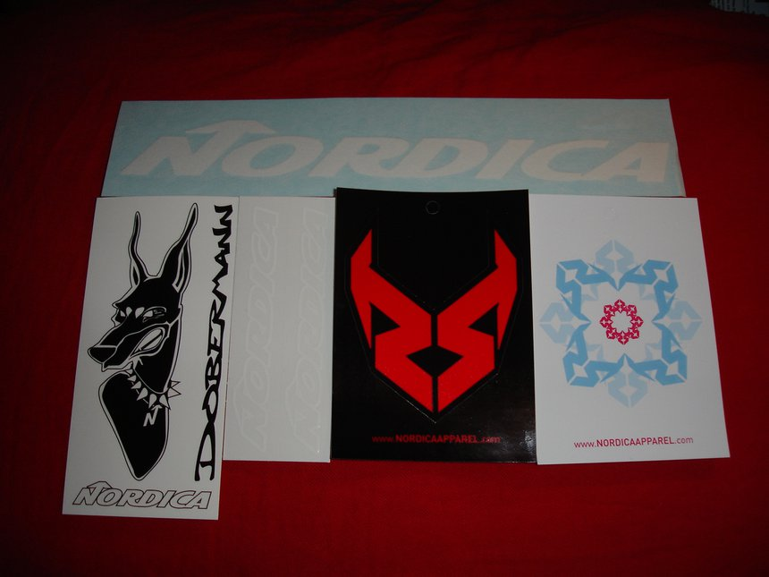 Nordica Stickers
