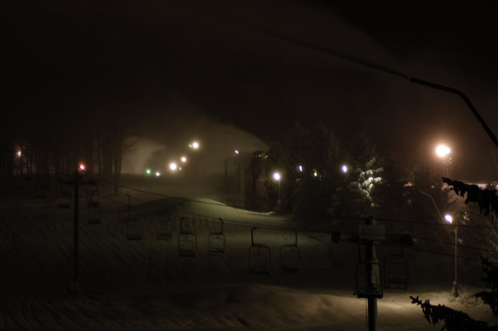 4am snowmaking