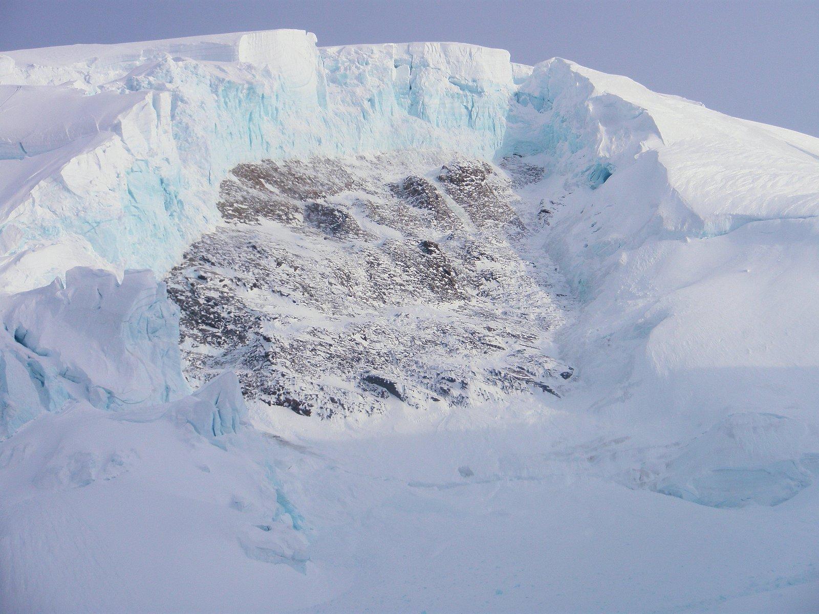 Blue Ice Serac