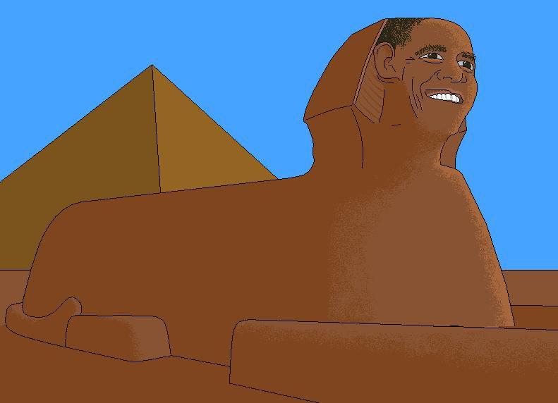 Obama Sphinx