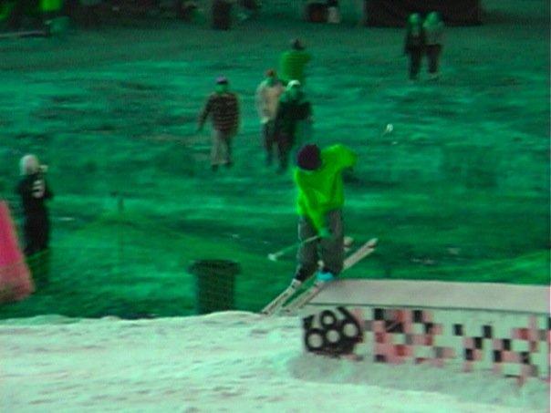 Skiin early season