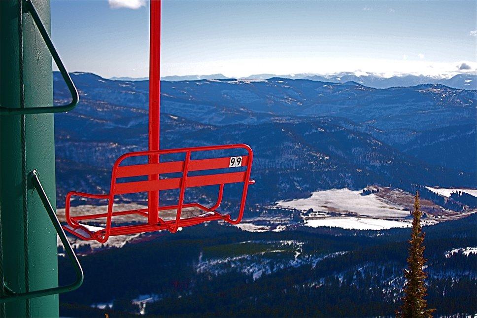 Top of Bridger Lift