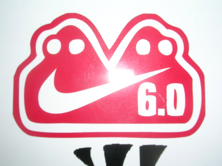 Nike 6.0 sticker i have already made