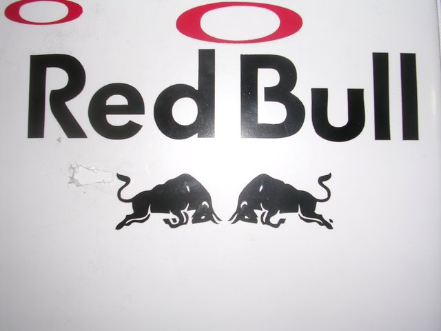 Red bull sticker i have already made