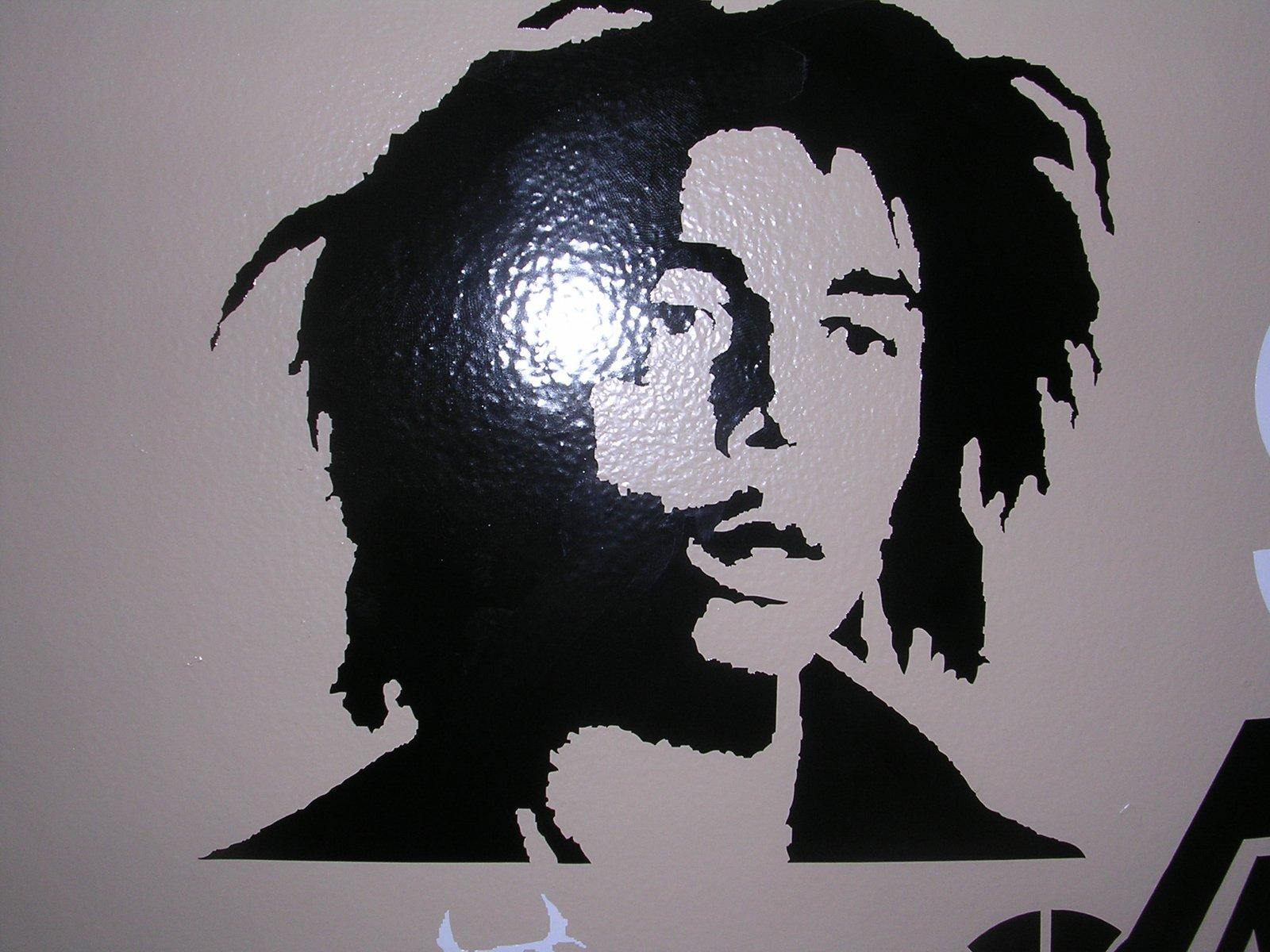 Bob marley sticker i have made