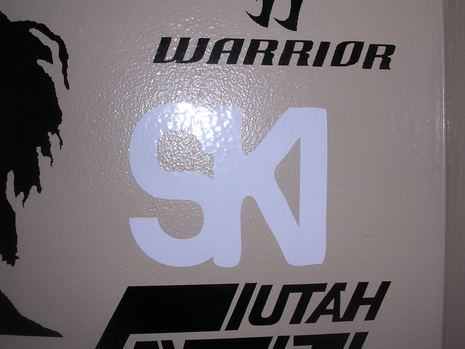 Ski sticker i have made