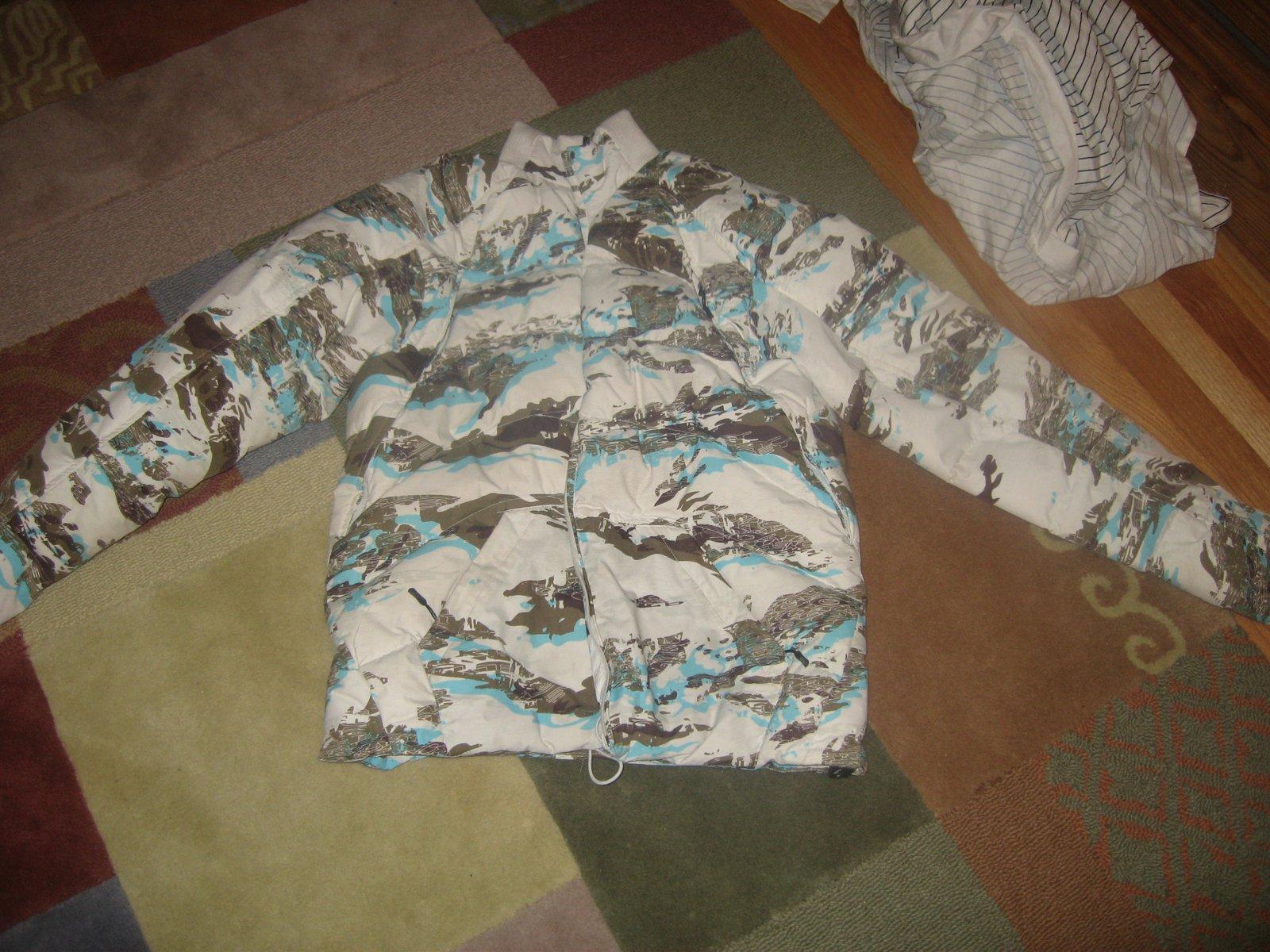 Tiger camo coat