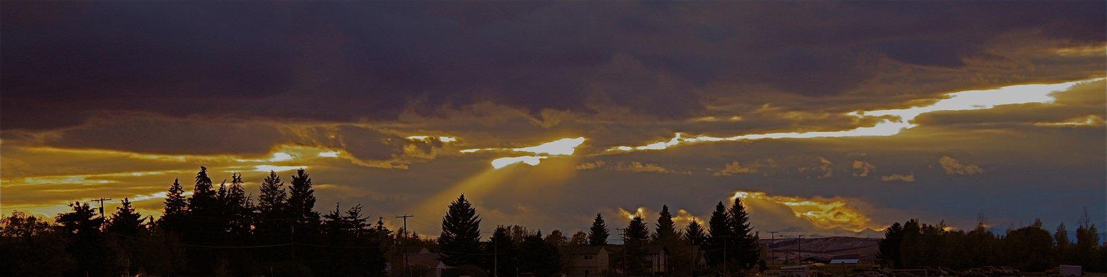Sick Bozeman Sunset