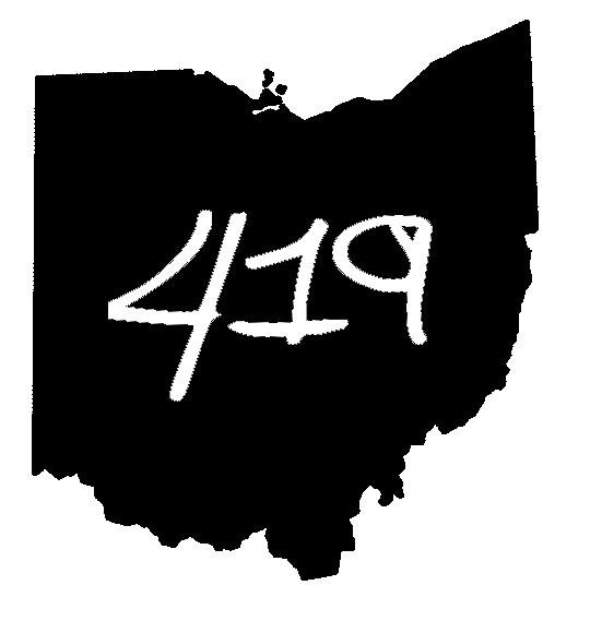 Ohio 419 sticker design