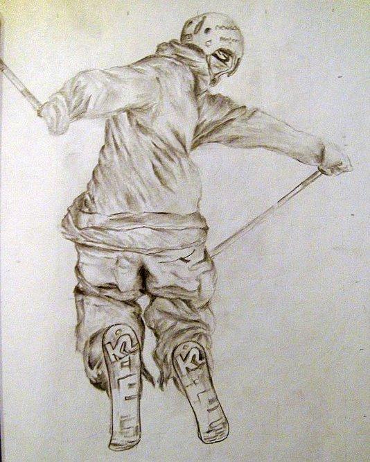Jeff Amy Amantea Sketch