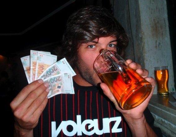 Partying in Croatia!