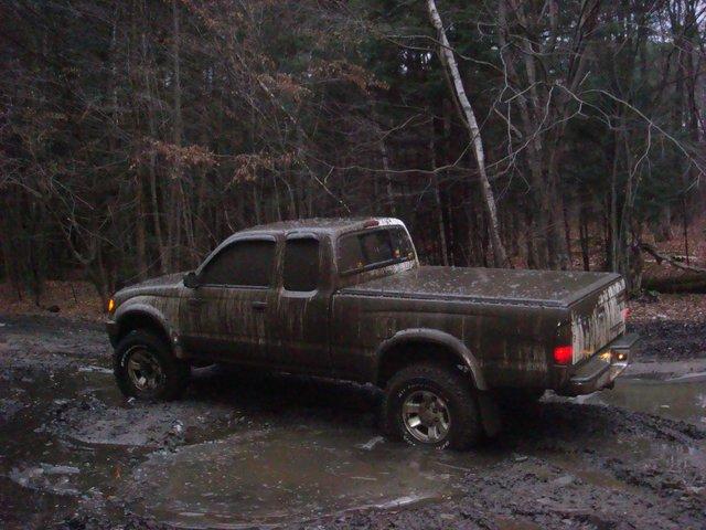 Found some mud