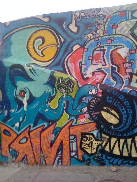 Dope costa rican grafiti