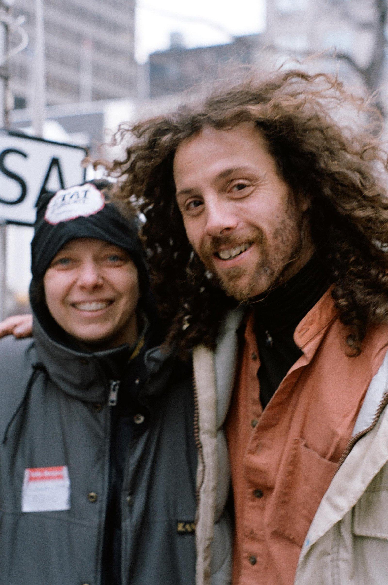 Homeless man IZZY