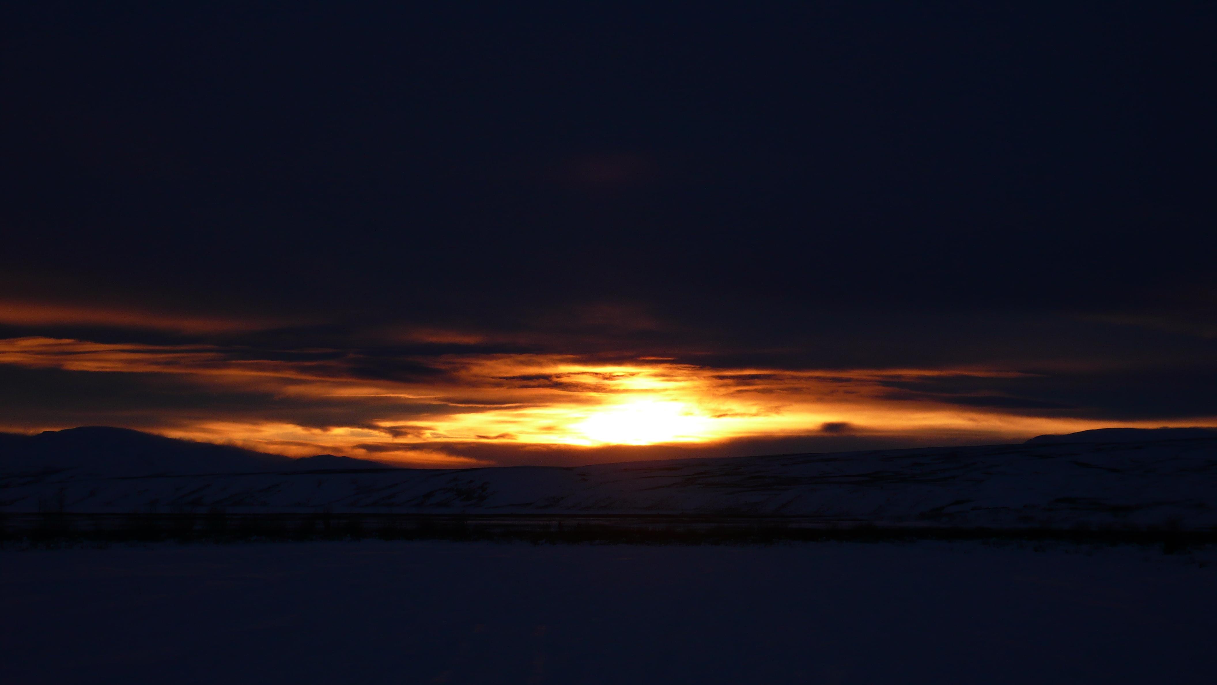 Sunset in summit