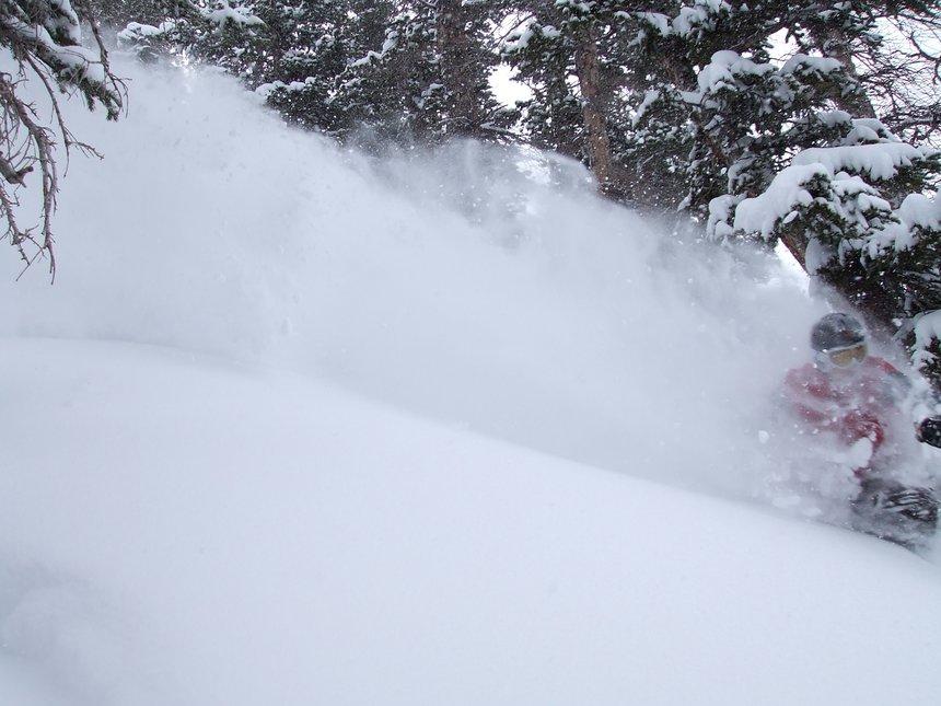 Cold smoke trail
