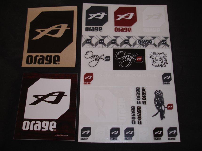 Orage Stickers