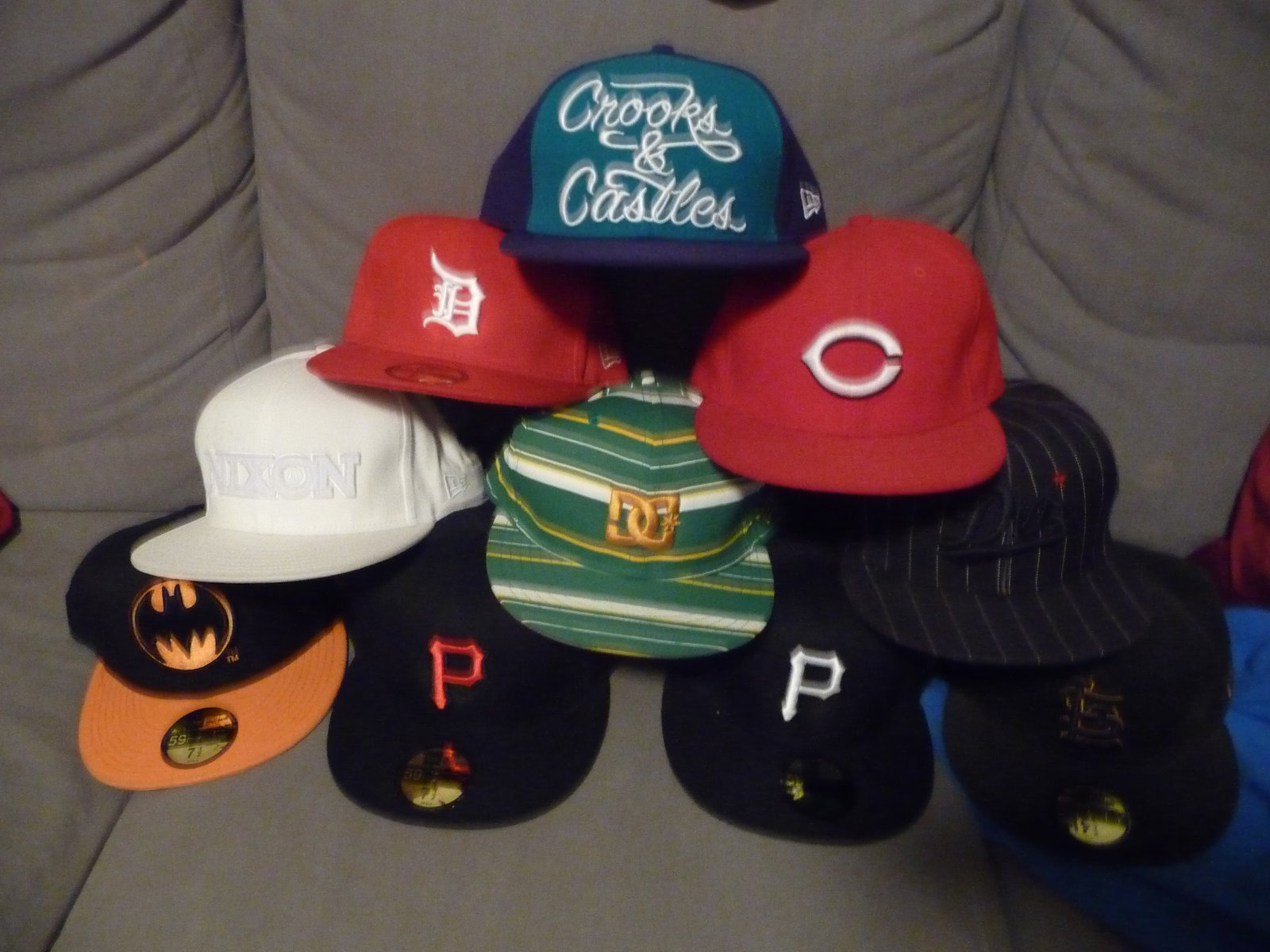 Hats for sale all 7 1/2