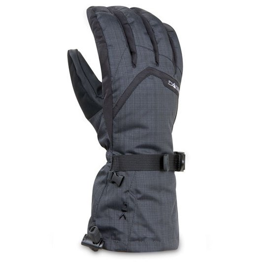Dakine Titan Black Plaid Gloves