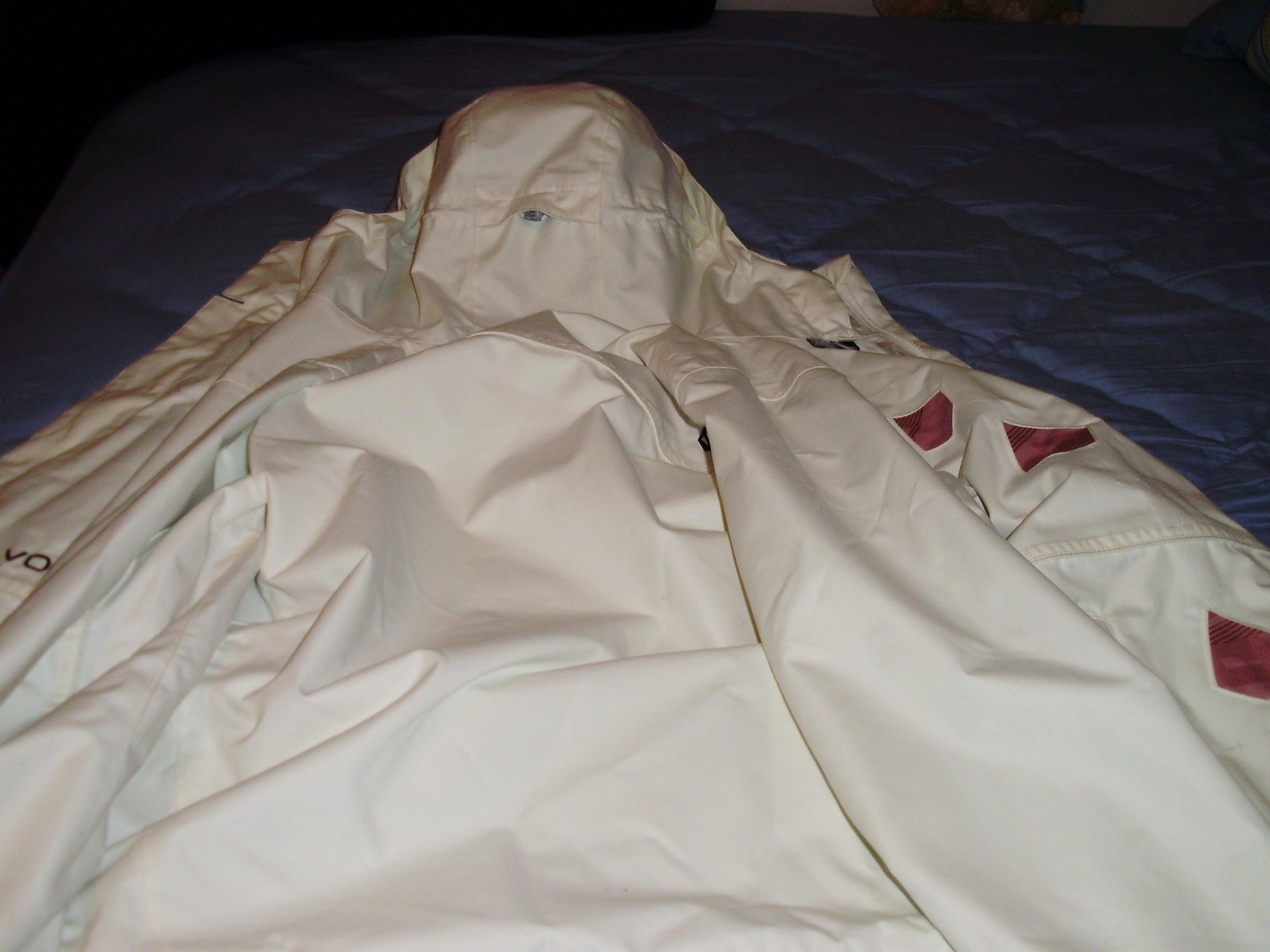Volcom coat back view
