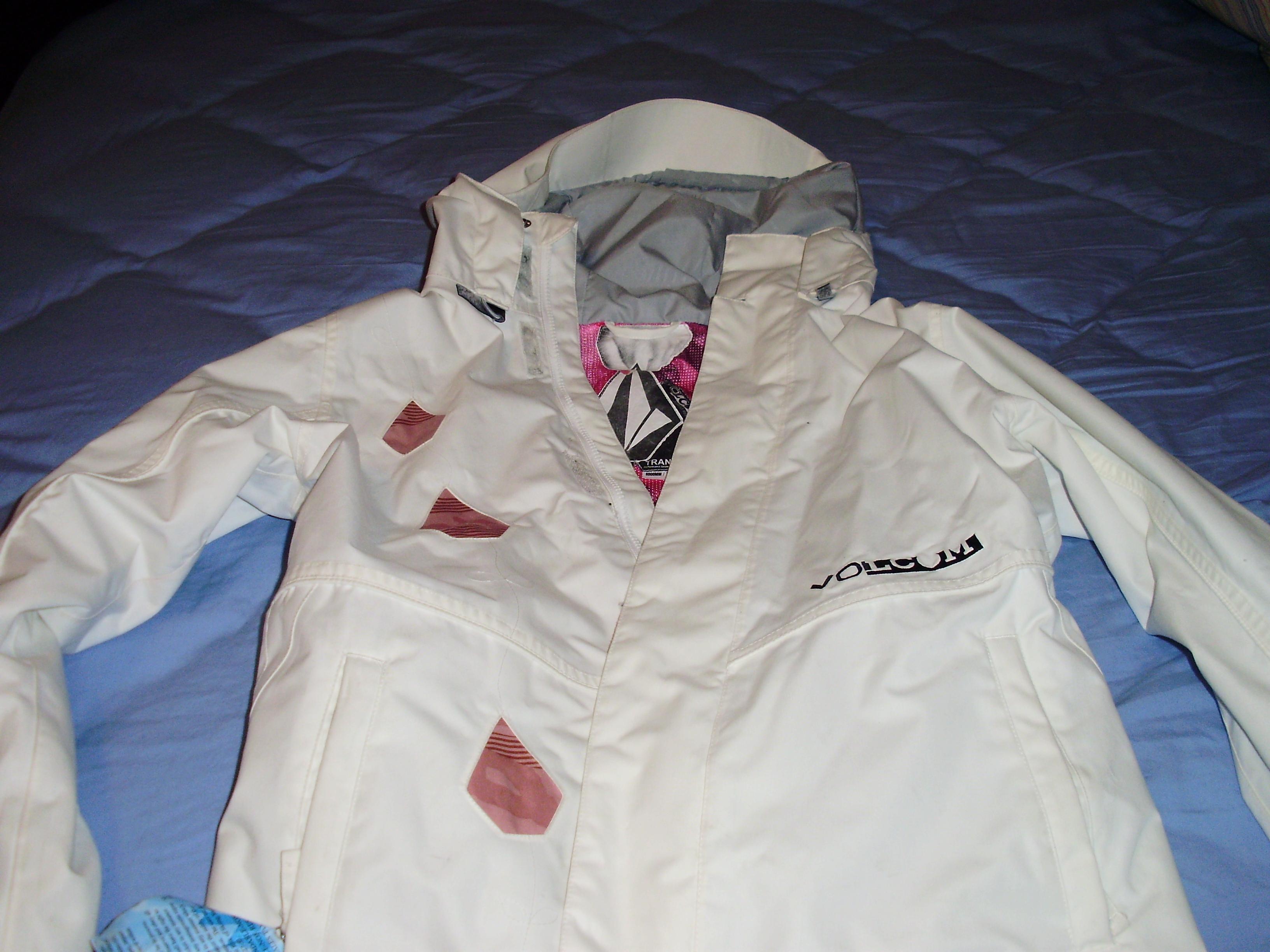 Volcom coat front view